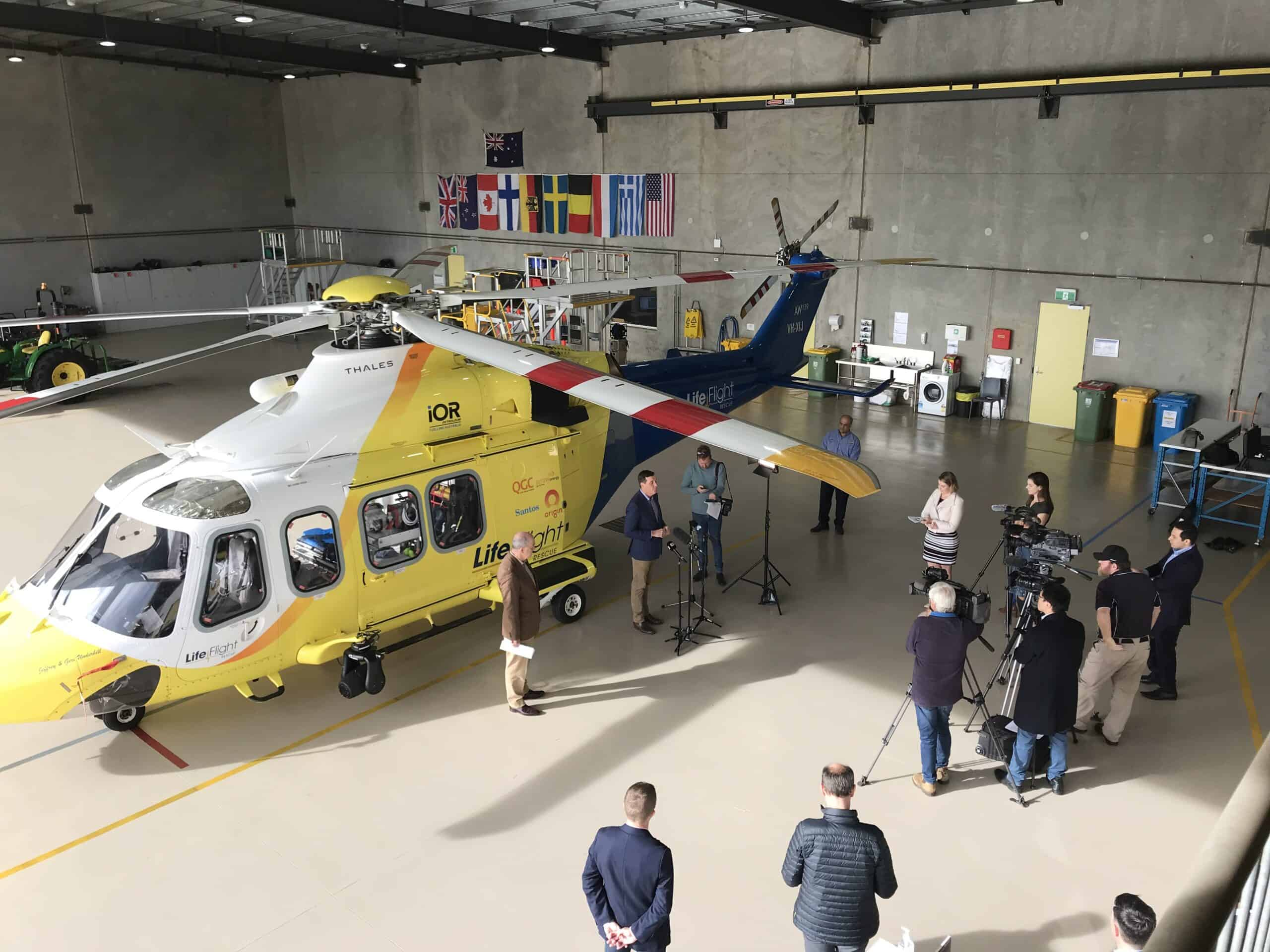 LifeFlight SGAS choppers soar into the future in the South West