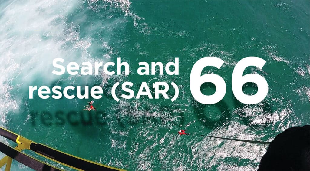 Search and rescue (SAR) video