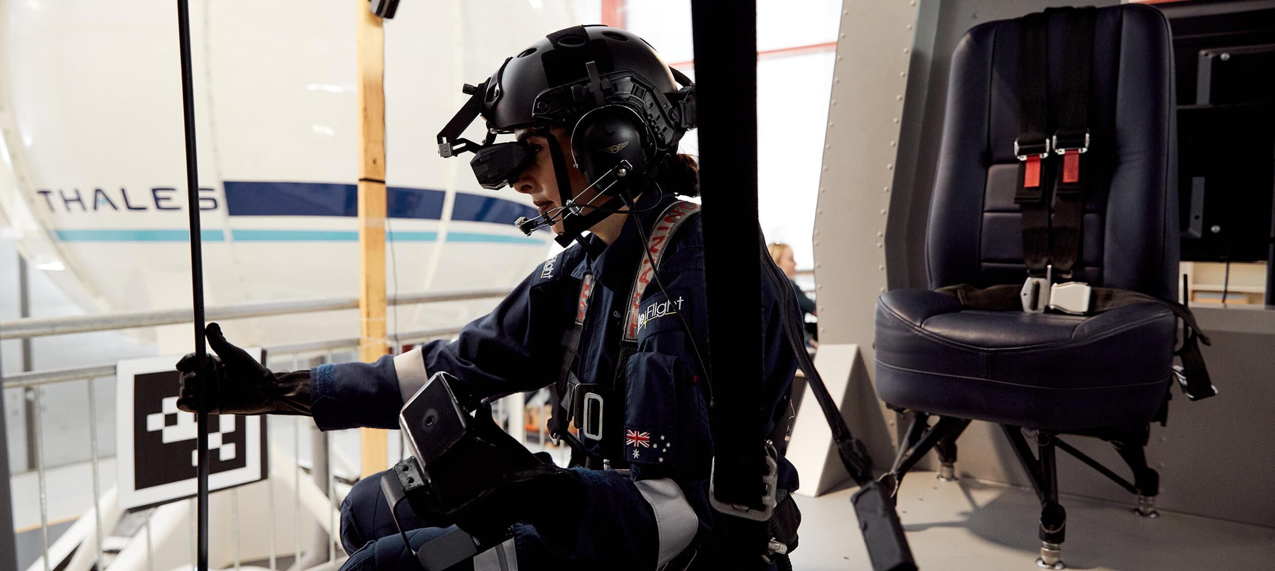 Thales aircrew training
