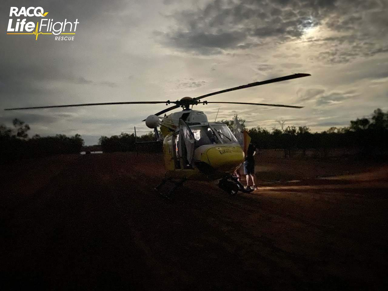 Couple rescued in 2nd overnight remote flood mission