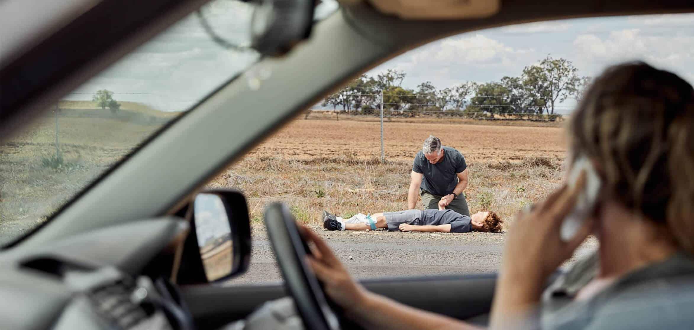 First on scene trauma training