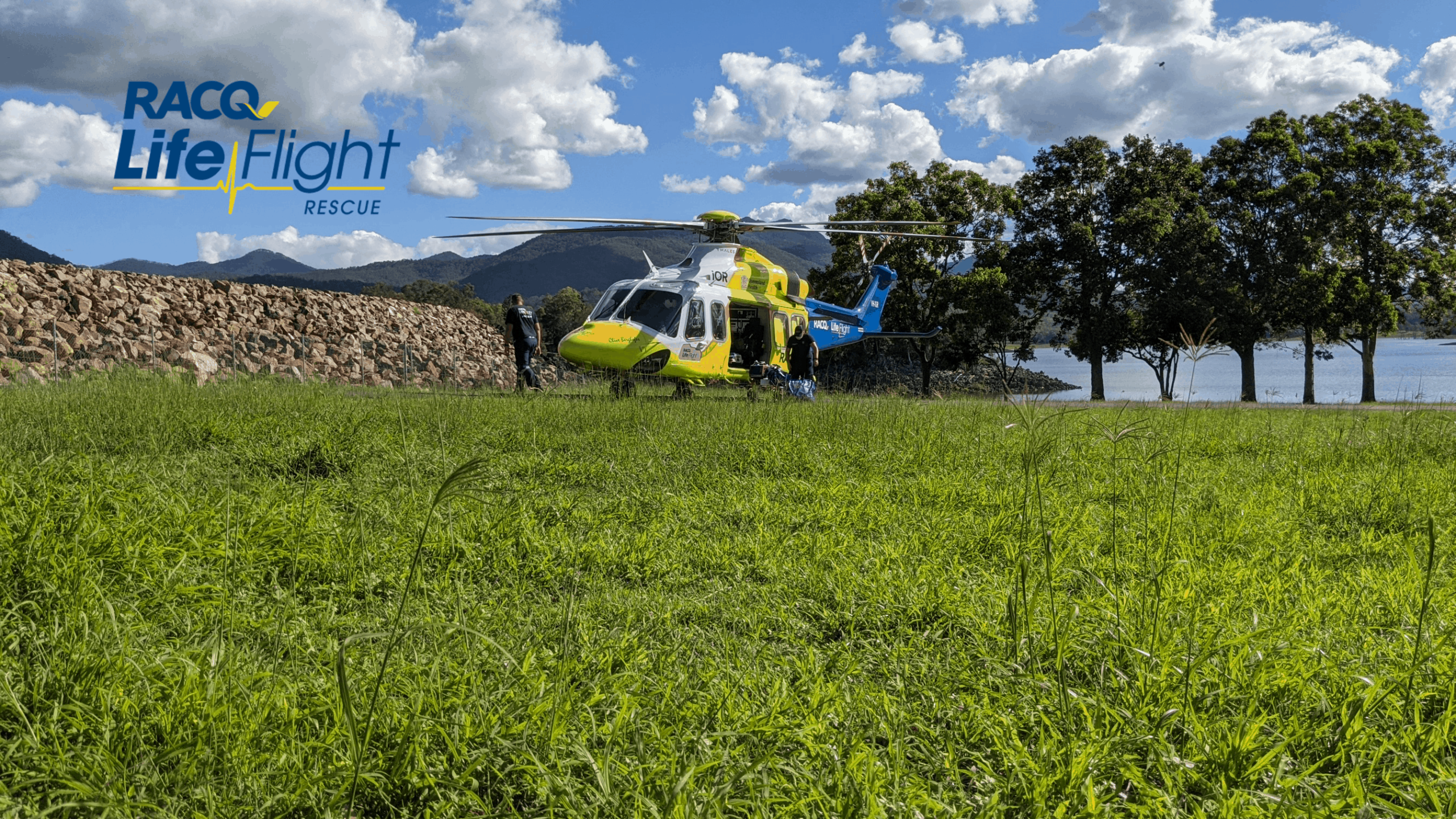 Man airlifted after lawn mower rollover