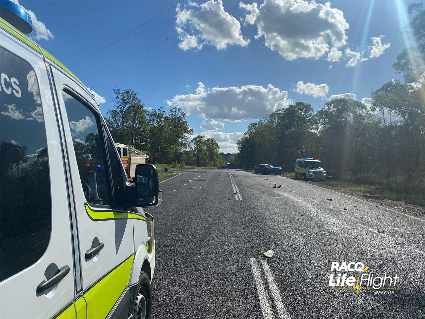 Seriously injured woman airlifted after head-on collision