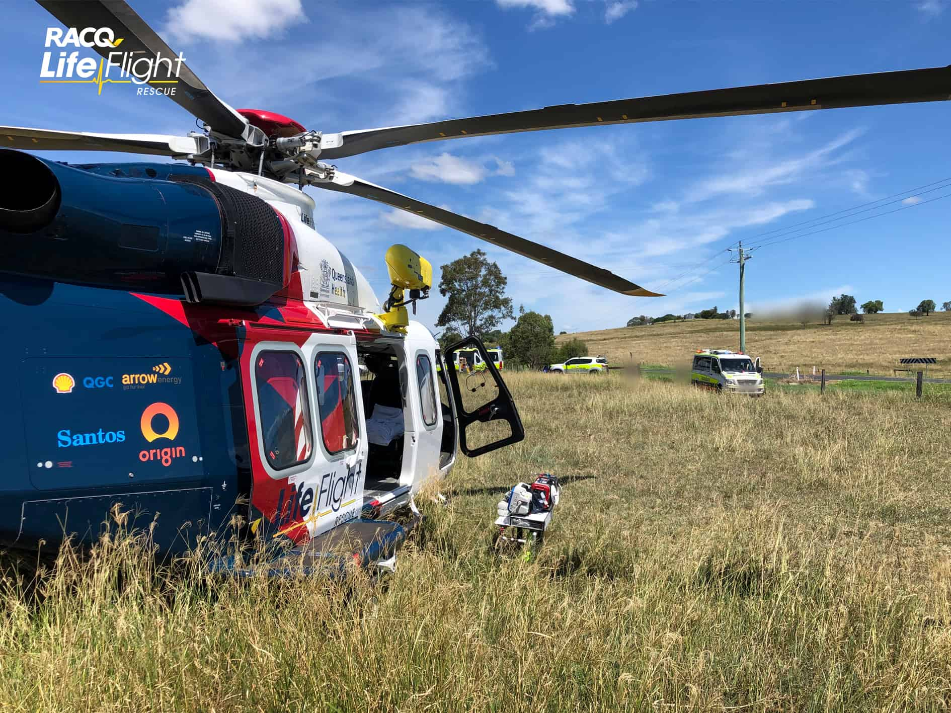Seriously injured teenager airlifted after being thrown from ATV