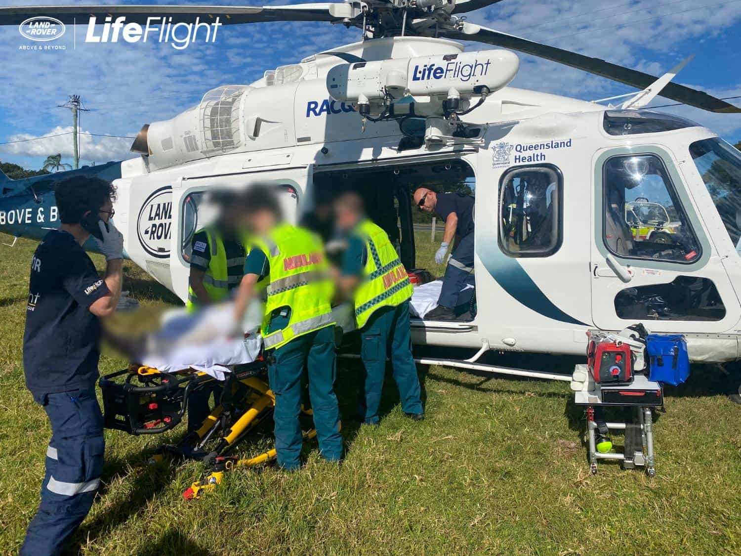 Critically injured man airlifted after hinterland crash