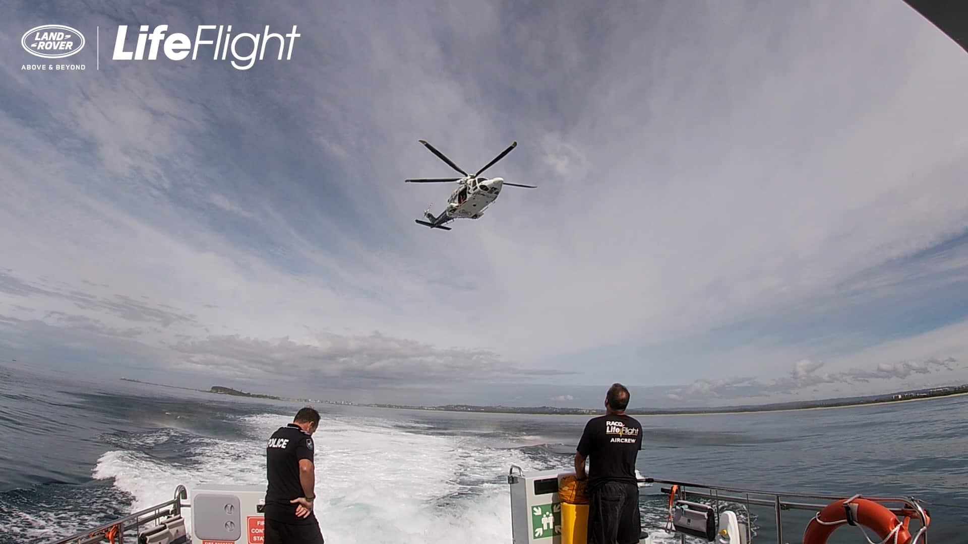 RACQ LifeFlight Rescue crews make splash during vital training exercise