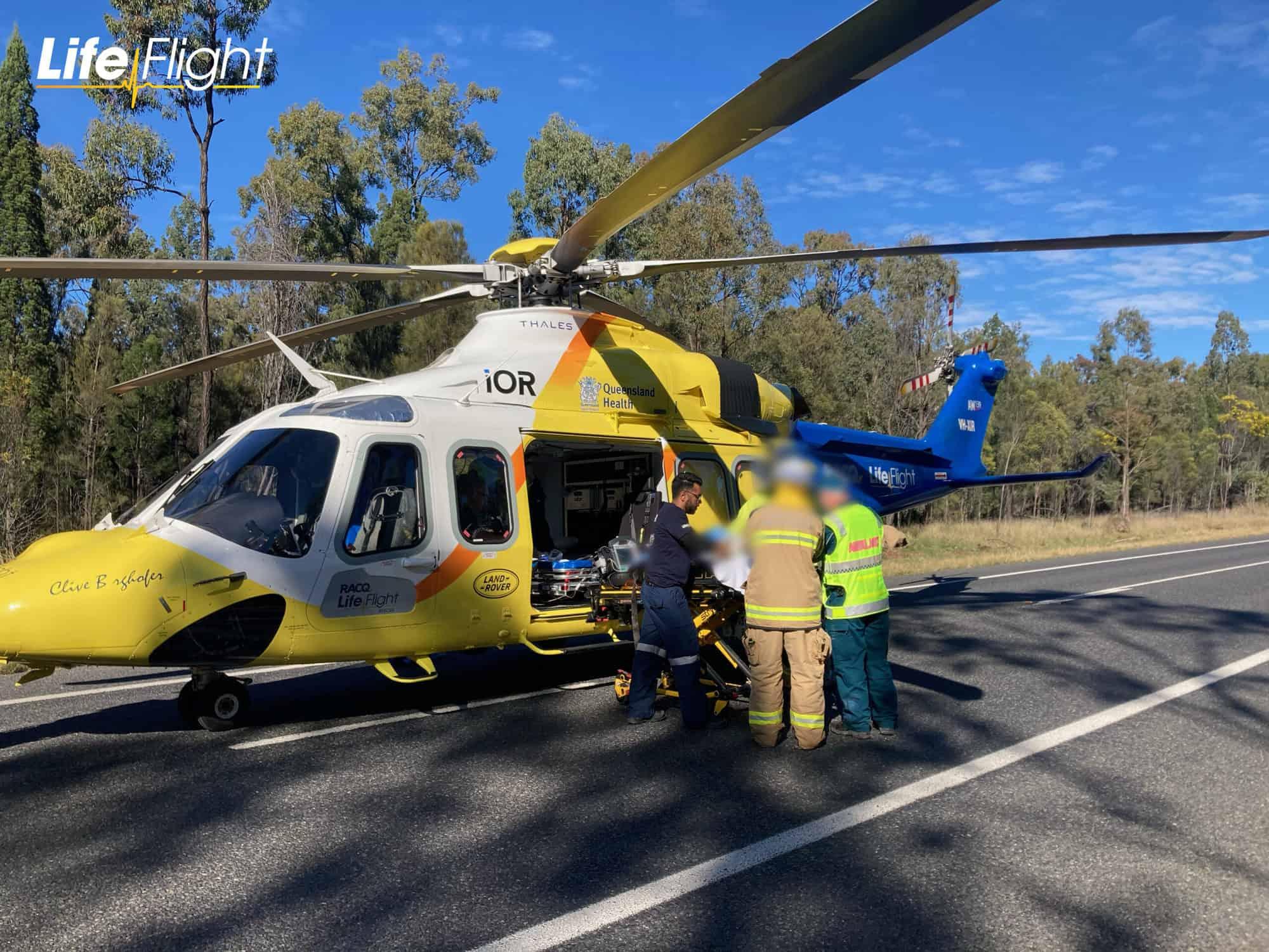 LifeFlight airlifts child survivor from horror crash