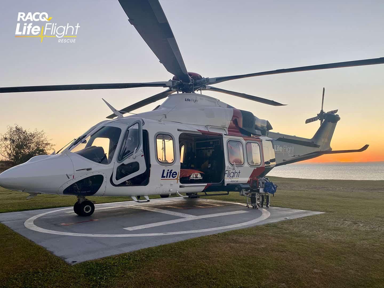 Injured teenager airlifted after sand tobogganing incident